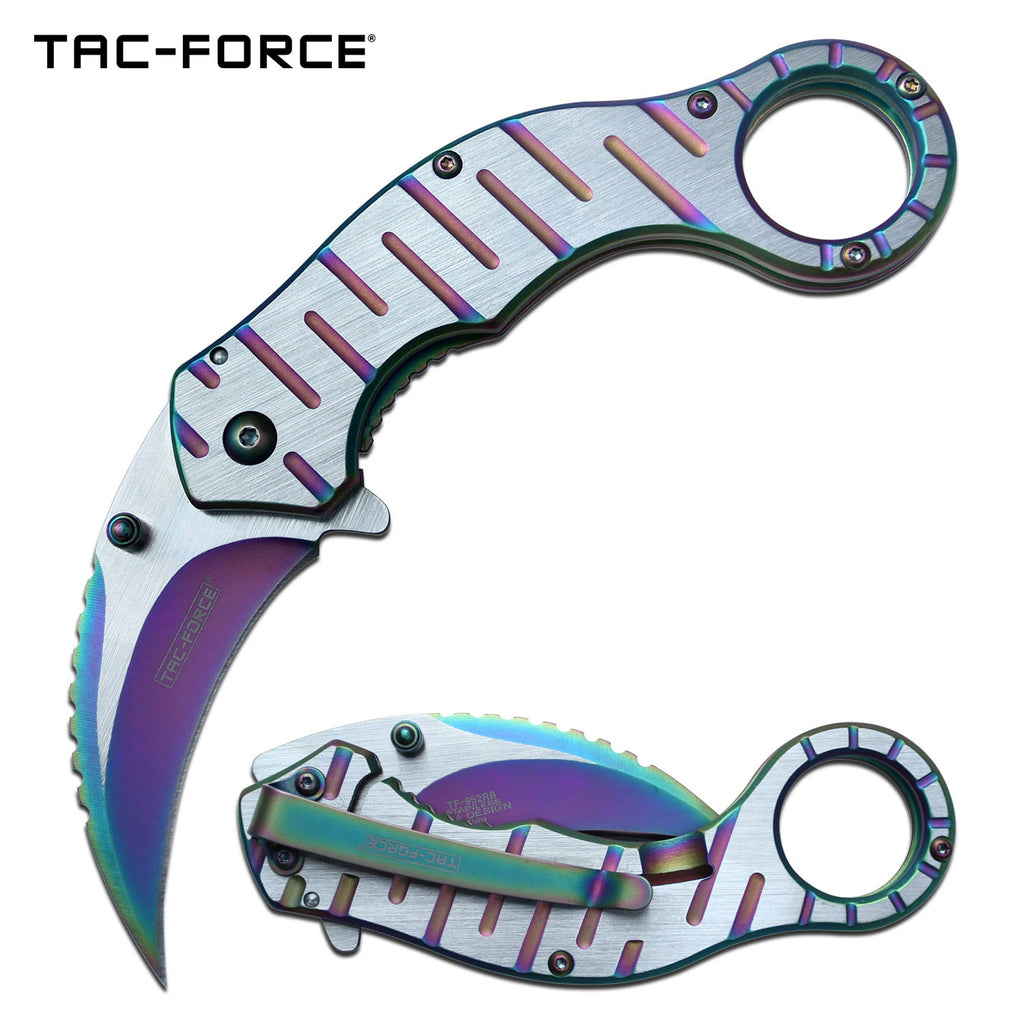 Tac-Force TF-952RB Spring Assisted Knife