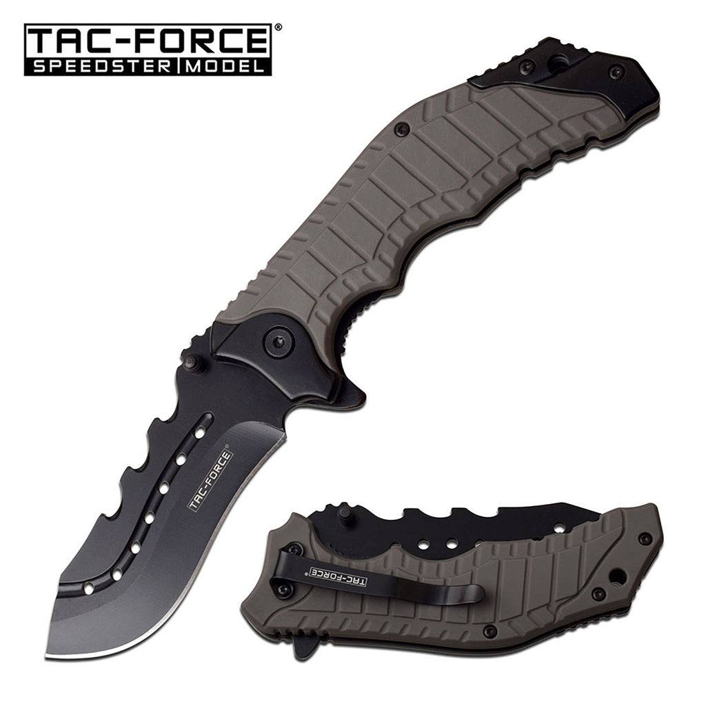 Tac-Force TF-953GY Spring Assisted Knife