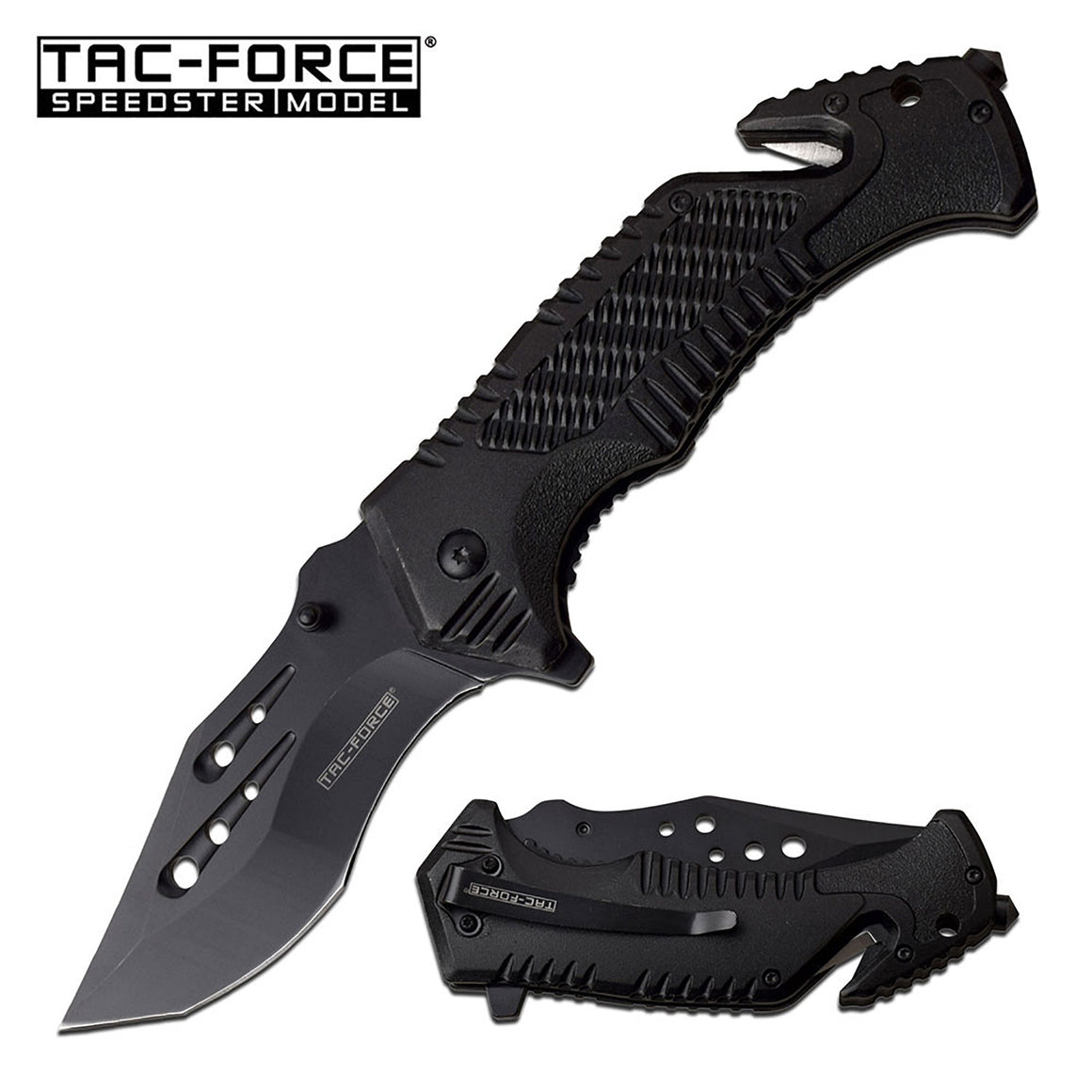 Tac-Force TF-954BK Spring Assisted Knife