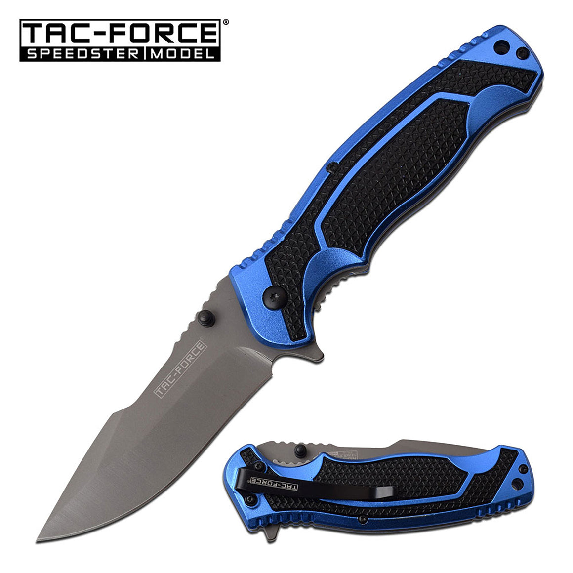 Tac-Force TF-960BL Spring Assisted Knife