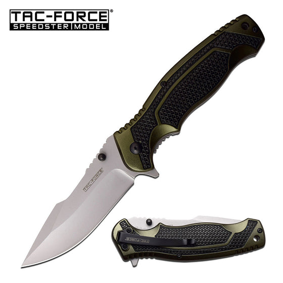 Tac-Force TF-960GN Spring Assisted Knife