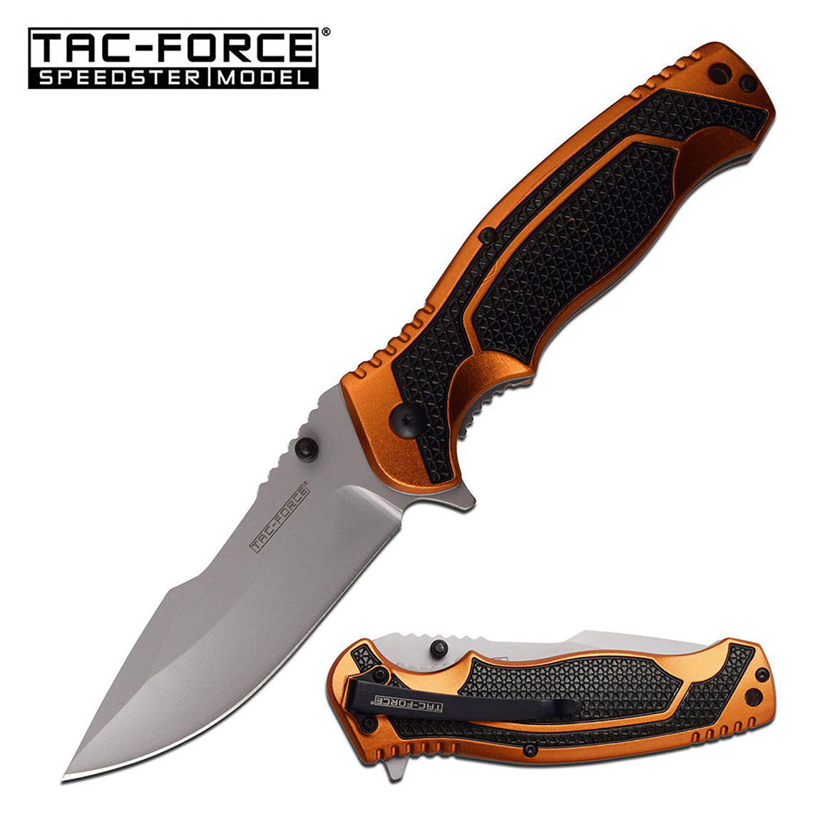 Tac-Force TF-960OR Spring Assisted Knife