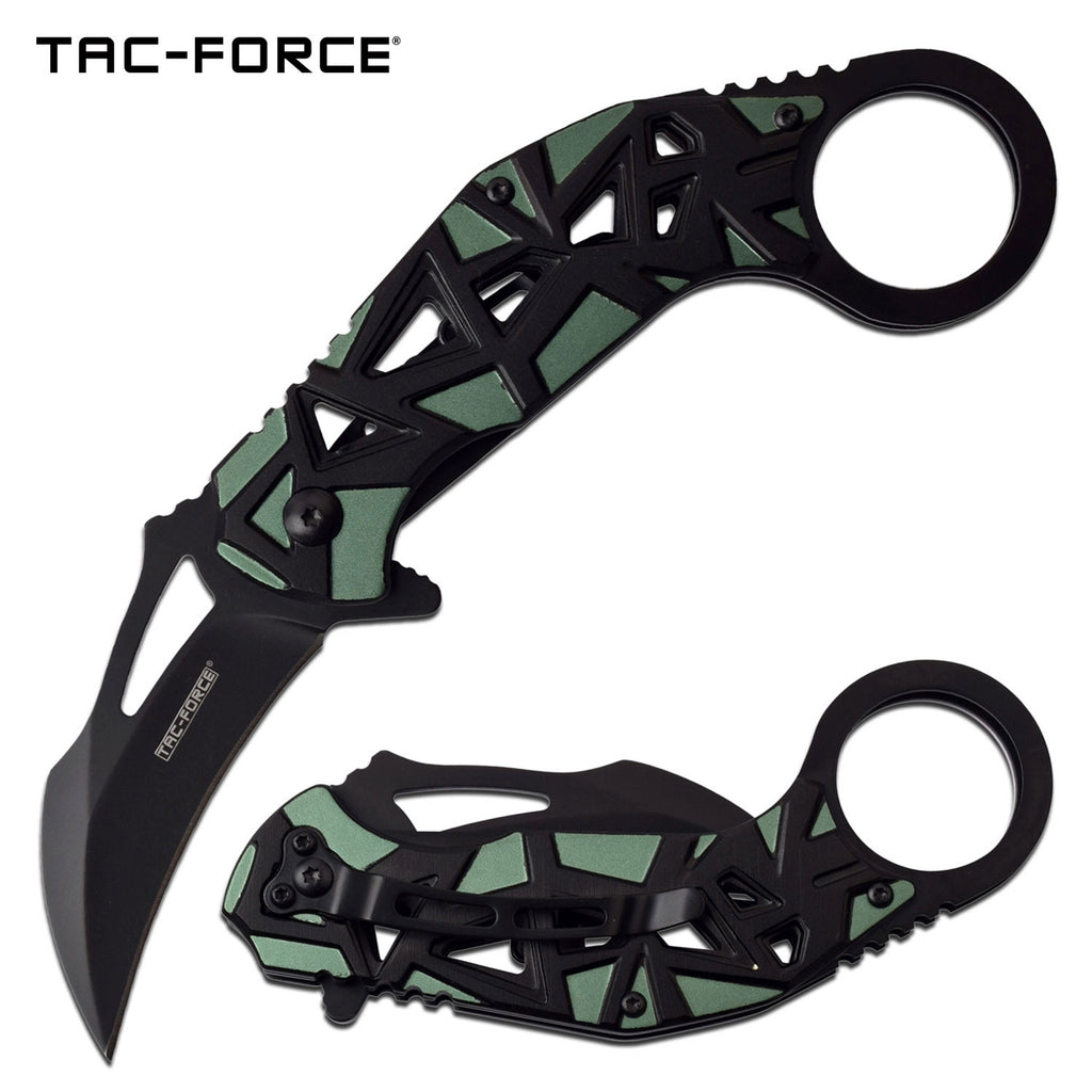 Tac-Force TF-961GN Spring Assisted Knife