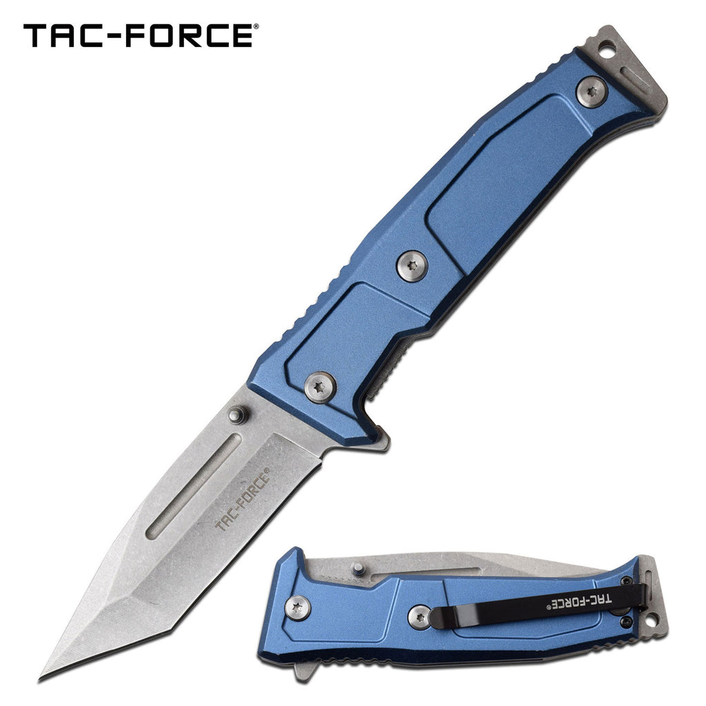 Tac-Force TF-969BL Spring Assisted Knife