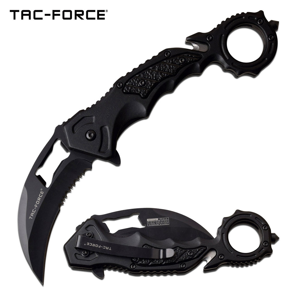Tac-Force TF-972BK Spring Assisted Knife
