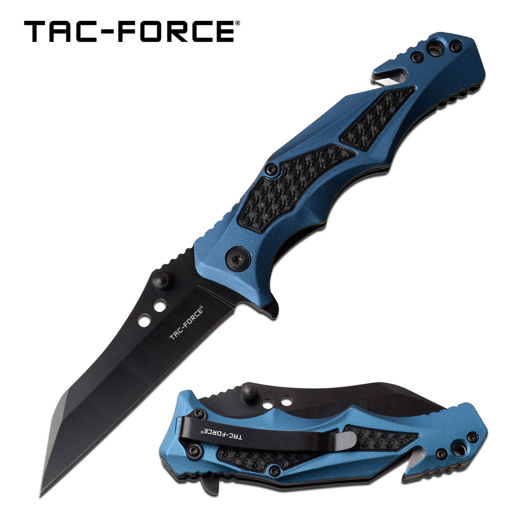 Tac-Force TF-978BL Spring Assisted Knife