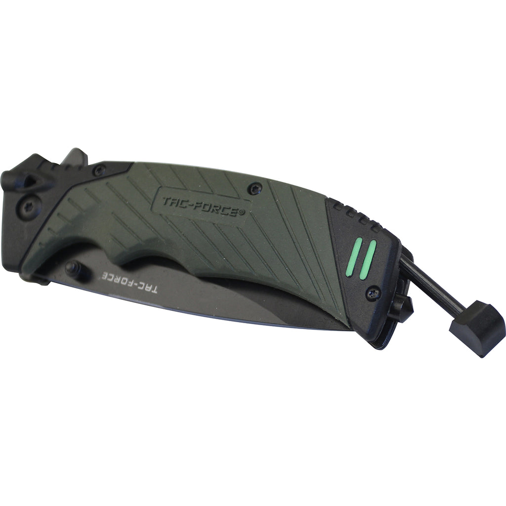 Tac-Force TF-979GN Spring Assisted Knife
