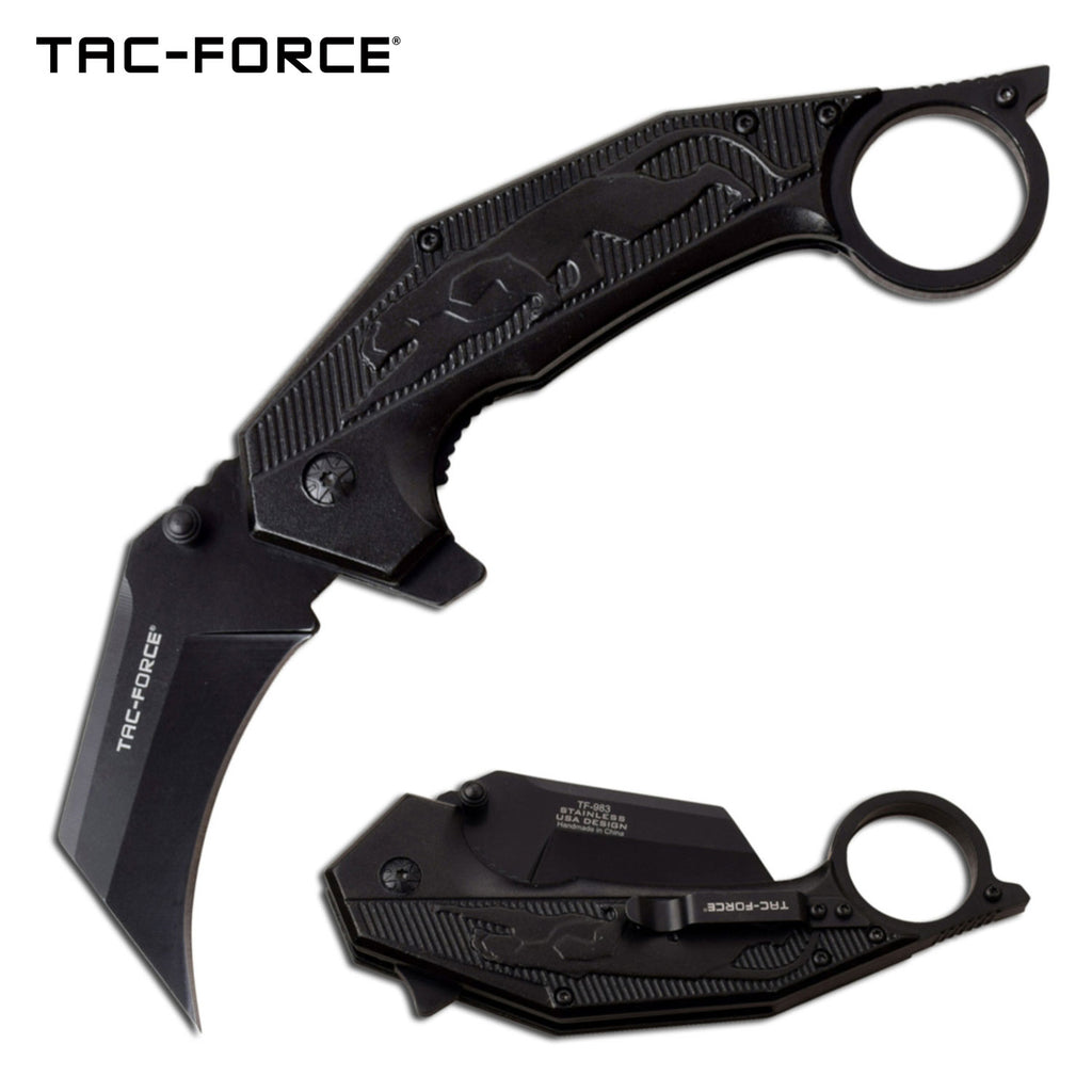 Tac-Force TF-983BK Spring Assisted Knife
