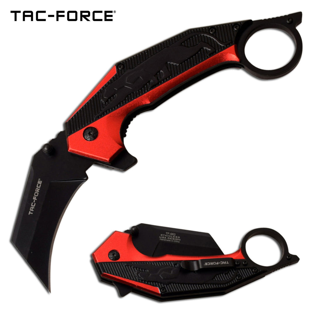 Tac-Force TF-983RD Spring Assisted Knife