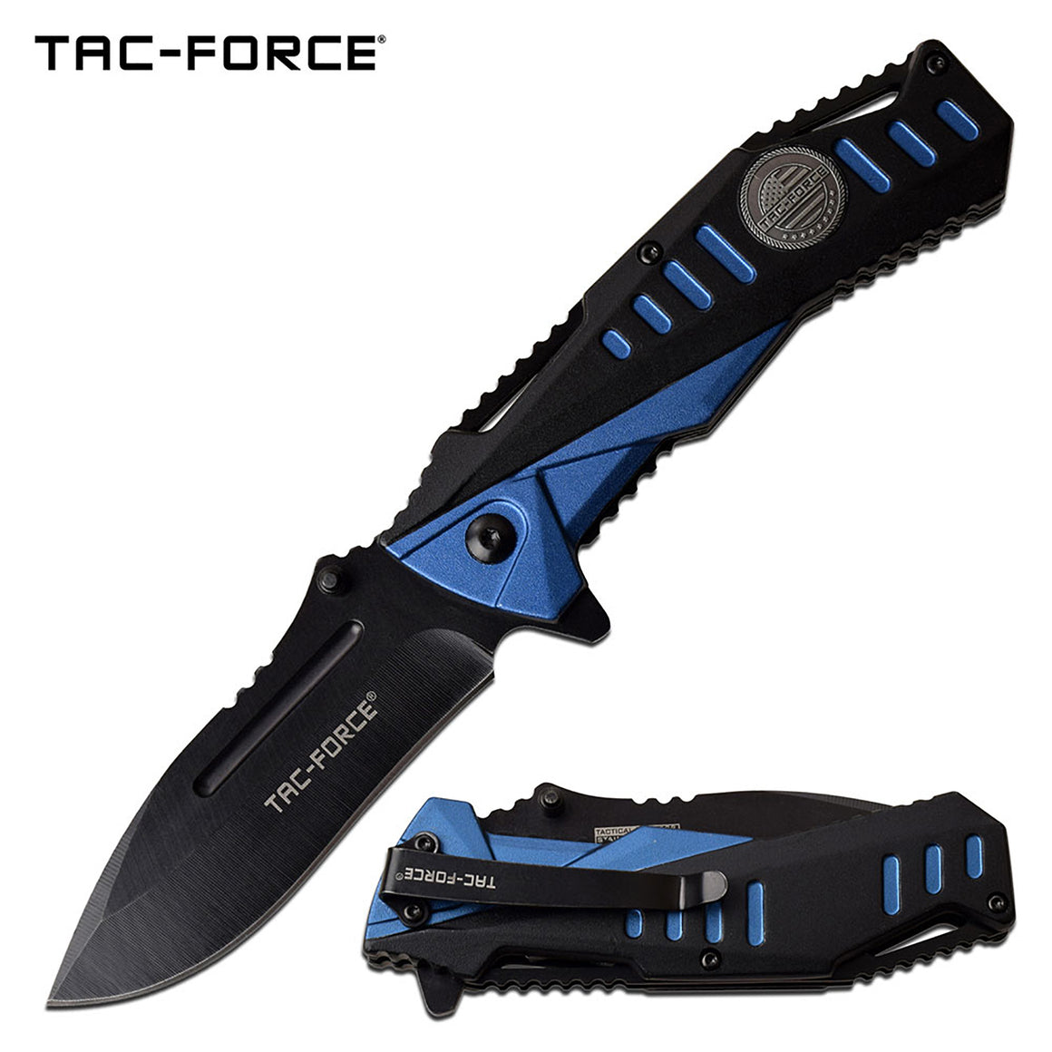 Tac-Force TF-988BL Spring Assisted Knife