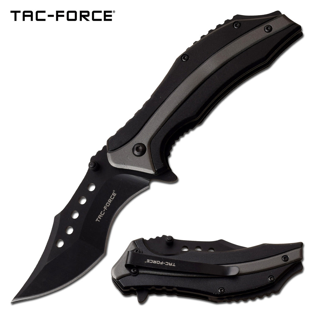 Tac-Force TF-989GY Spring Assisted Knife