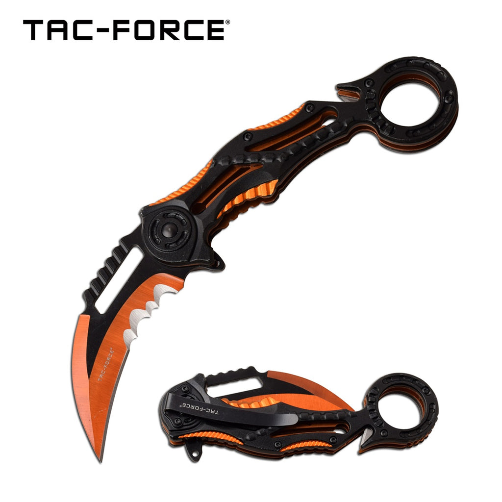 Tac-Force TF-990OR Spring Assisted Knife