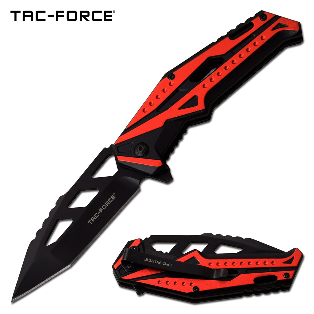 Tac-Force TF-996RD Spring Assisted Knife