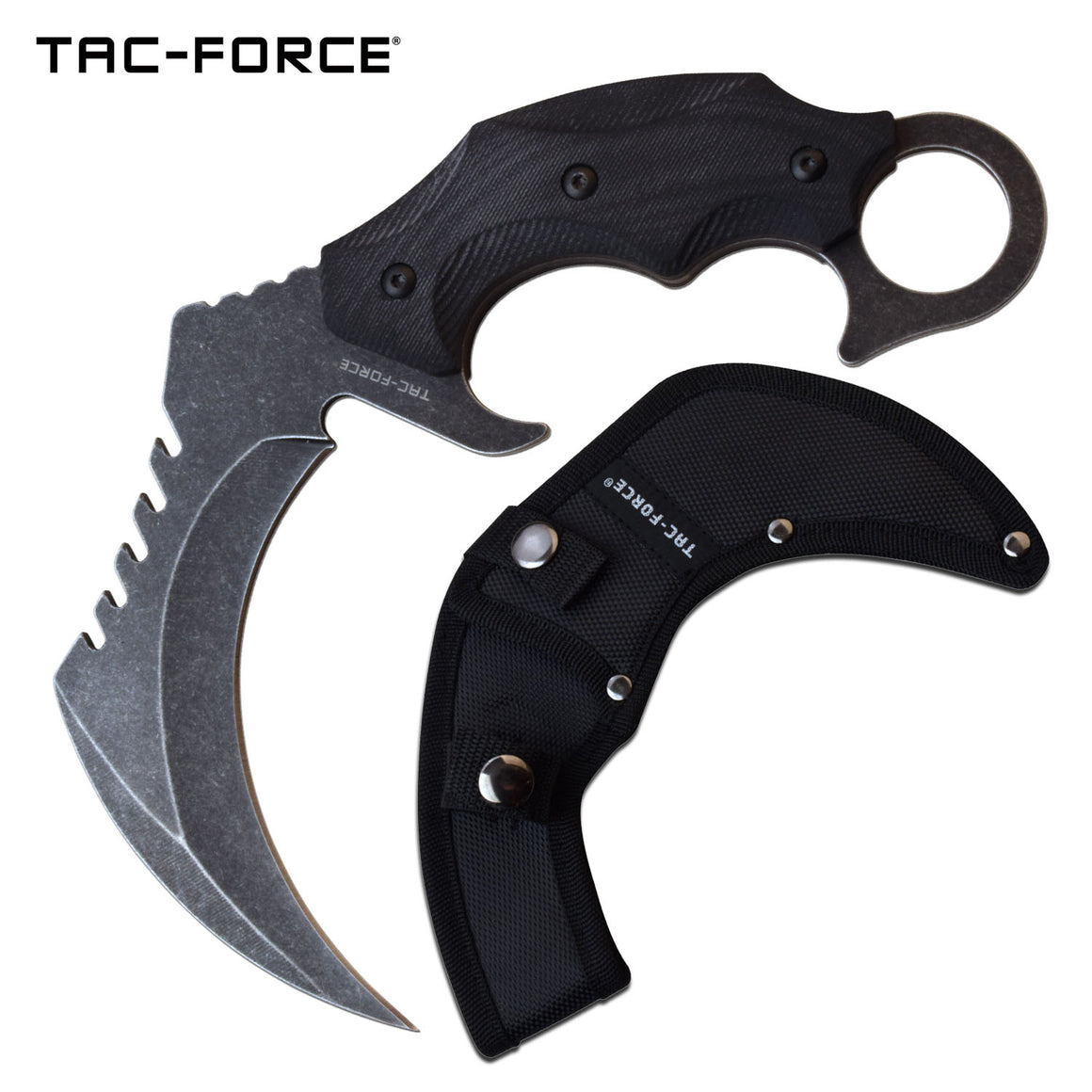 Tac-Force TF-FIX016BK Fixed Blade Knife