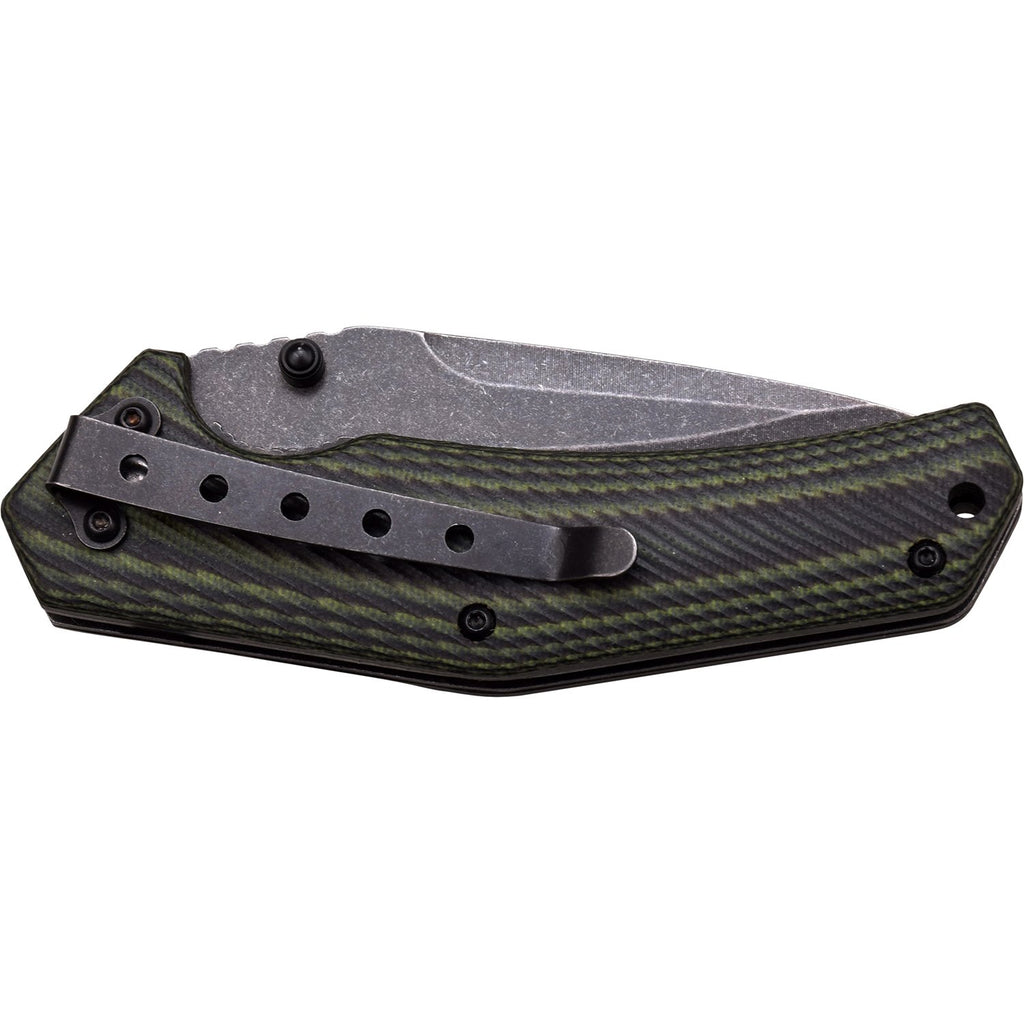 Tac-Force Evolution TFE-A009-BGN Spring Assisted Knife