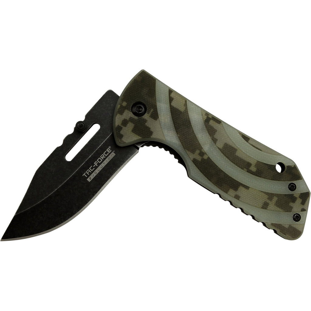 Tac-Force Evolution TFE-A013-DG Spring Assisted Knife