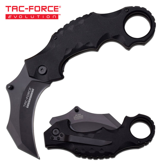 Tac-Force Evolution TFE-A021-BK Spring Assisted Knife