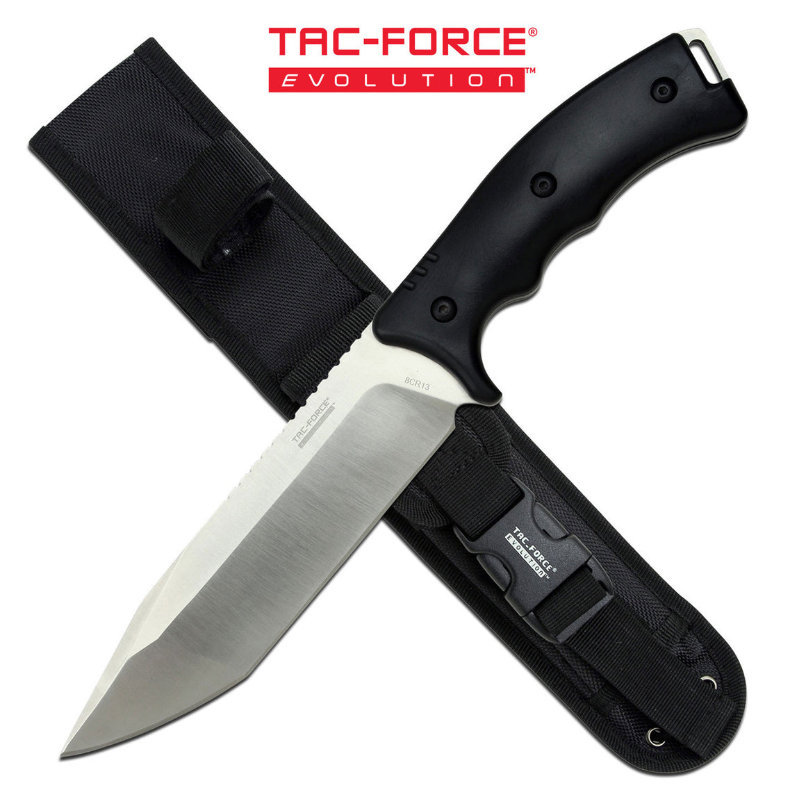 Tac-Force Evolution TFE-FIX004T-BK Fixed Blade Knife