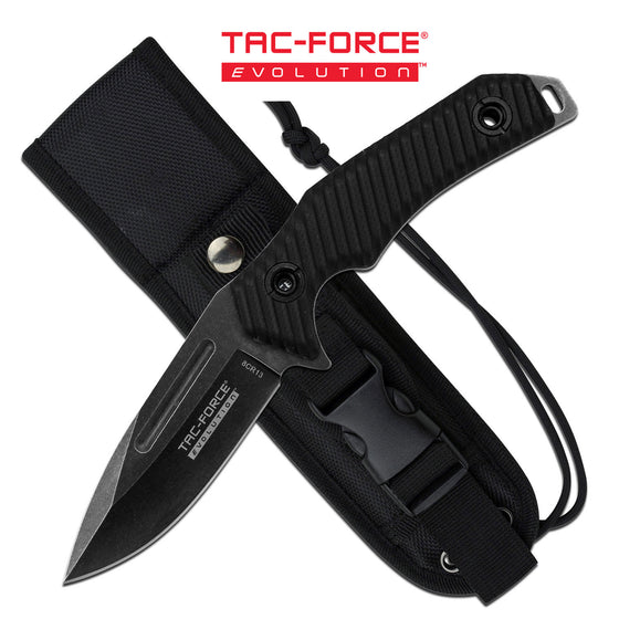 Tac Force Evolution TFE-FIX006-BK Fixed Blade Knife