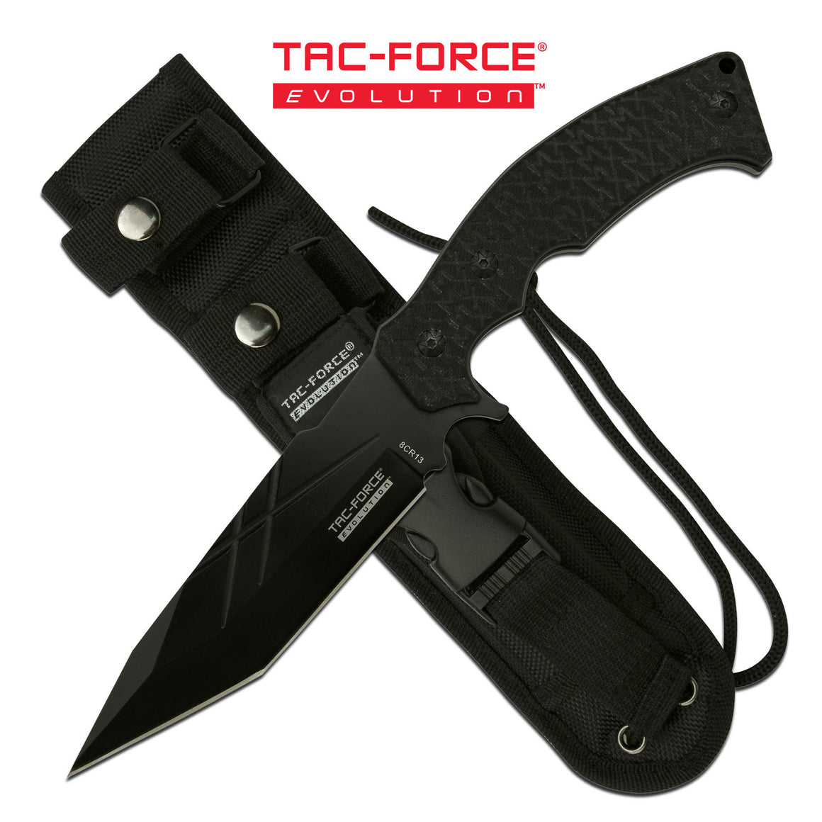 Tac Force Evolution TFE-FIX007BK Fixed Blade Knife