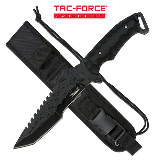 Tac-Force Evolution TFE-FIX008-BK Fixed Blade Knife