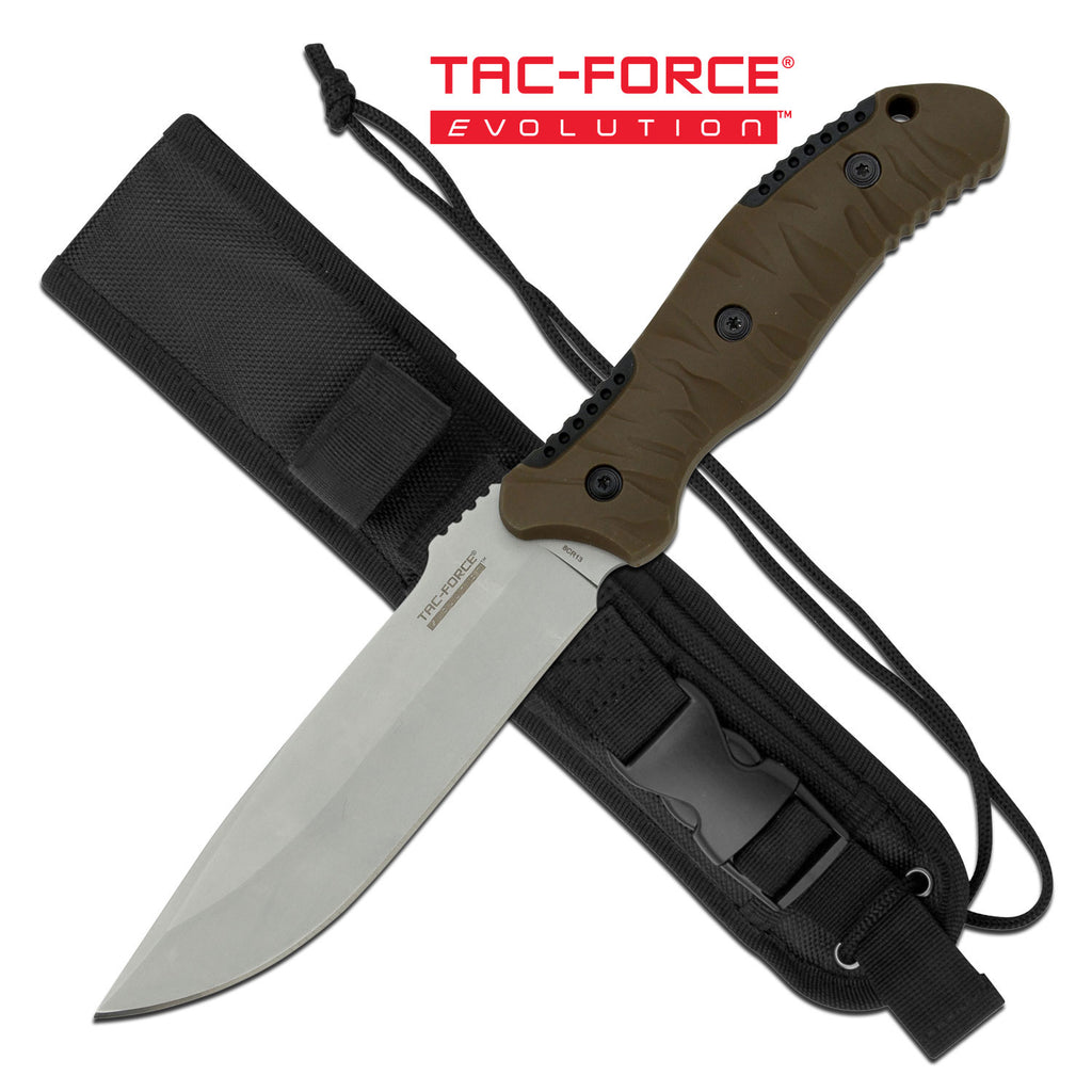 Tac Force Evolution TFE-FIX015-TN Fixed Blade Knife