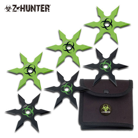 Z-Hunter ZB-014 Throwing Star Set