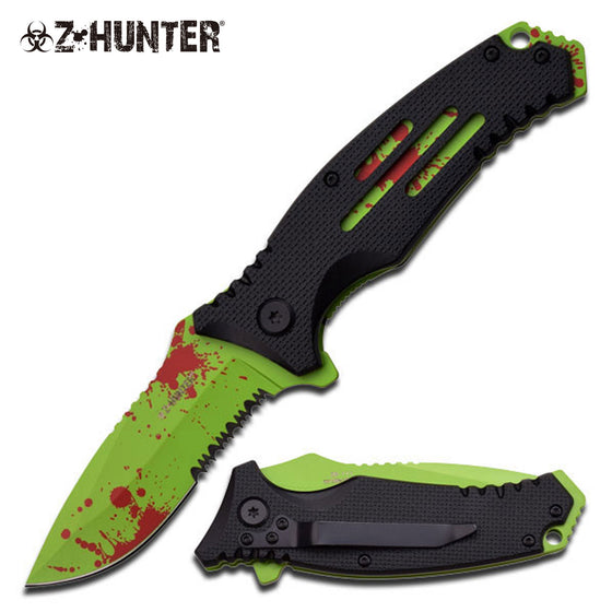 Z-Hunter ZB-111BG Spring Assisted Knife