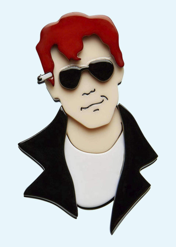 "Erstwilder: ""Hickie From Kenickie"" Grease Broche Accessories Mondo Kaos"