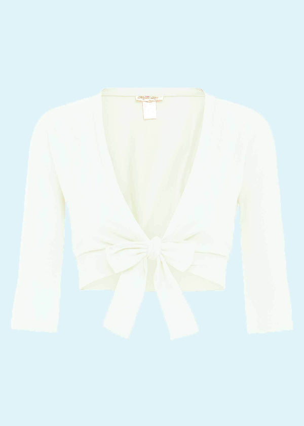 Heart Of Haute: 'Sweet Sweater' Bolero i creme Mondo Kaos