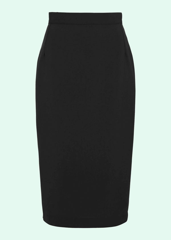 House Of Foxy: Klassisk Pencil Skirt i sort toej mondokaos
