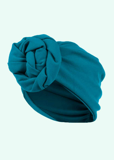 House of Foxy: Turban - Teal i 1940er stil Accessories Mondo Kaos