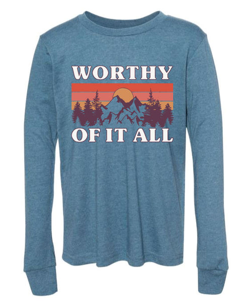Worthy of it All™ Long Sleeve Tee