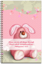 Load image into Gallery viewer, Bunny Dearest - Personalized Journal