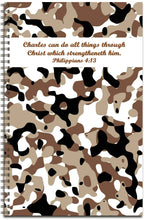 Load image into Gallery viewer, Chocolate Camo - Personalized Journal