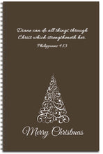 Load image into Gallery viewer, Chocolate Christmas - Personalized Journal