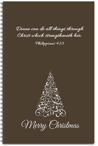 Chocolate Christmas - Personalized Journal