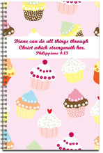 Load image into Gallery viewer, Cupcake Sweetness - Personalized Journal