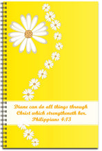 Load image into Gallery viewer, Daisy Delight - Personalized Journal