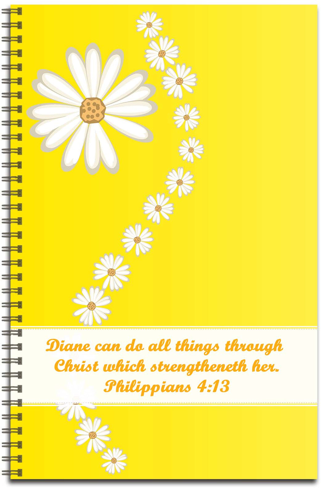 Daisy Delight - Personalized Journal