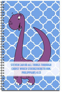 Dino Delight - Personalized Journal