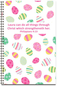 Easter Eggs Delight - Personalized Journal