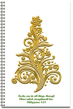Load image into Gallery viewer, Golden Christmas - Personalized Journal