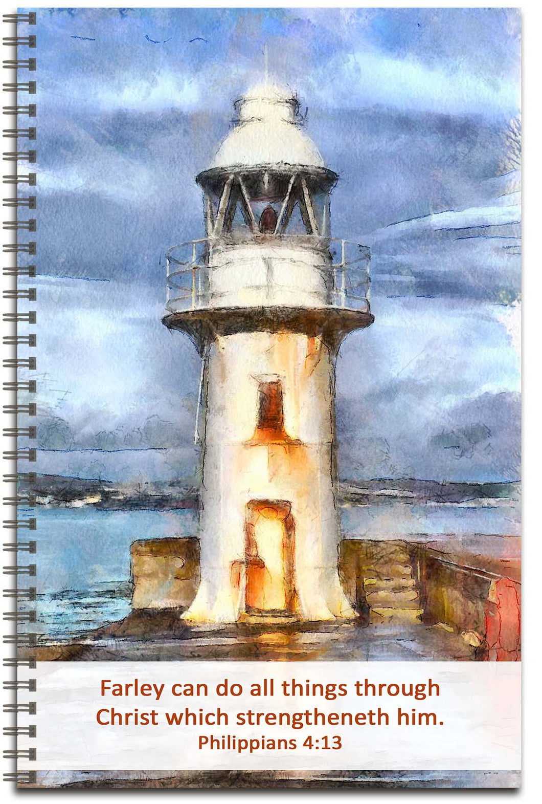 Guiding Light - Personalized Journal