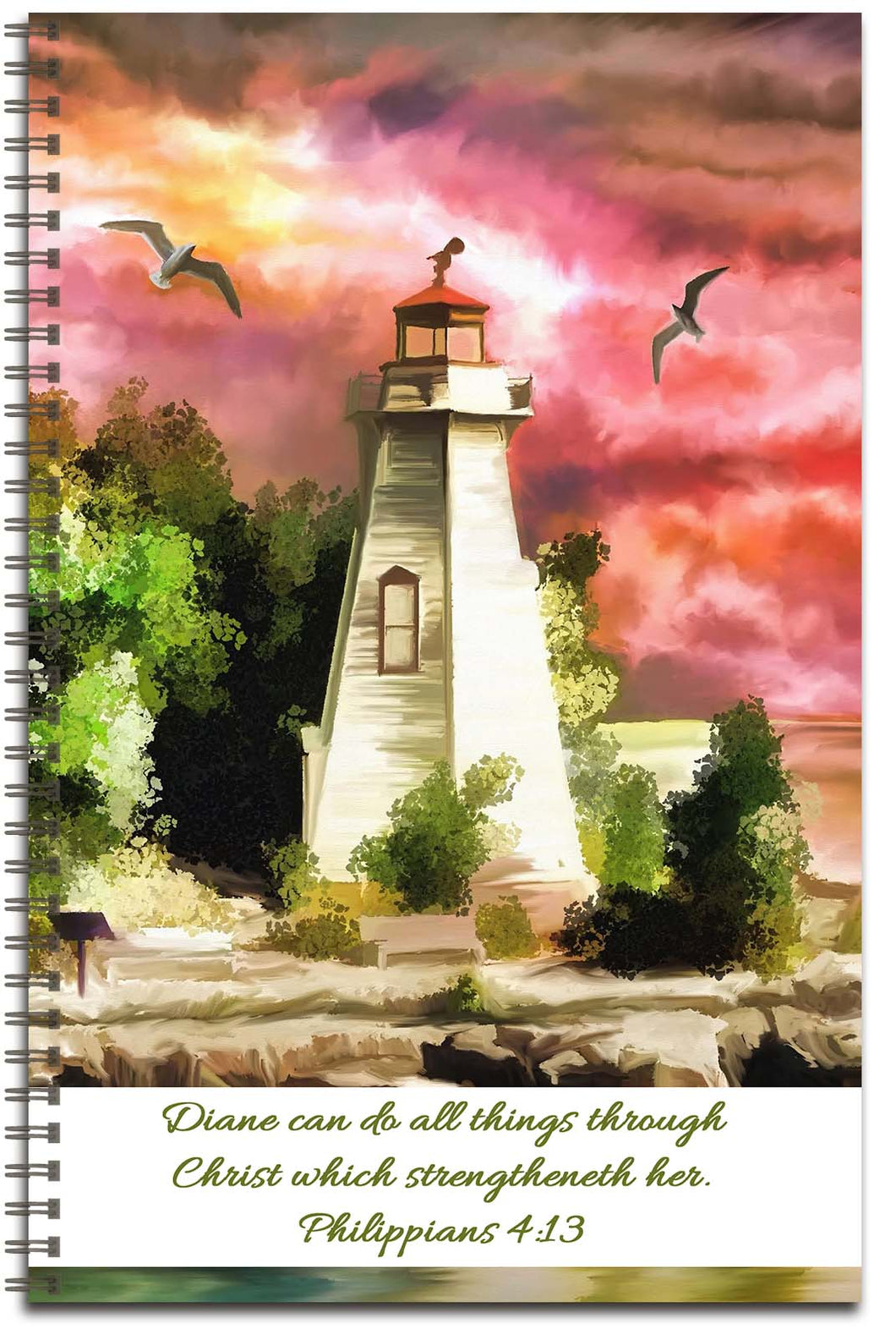 Island Sunset - Personalized Journal