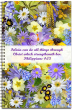 Load image into Gallery viewer, Lavender Bouquet - Personalized Journal
