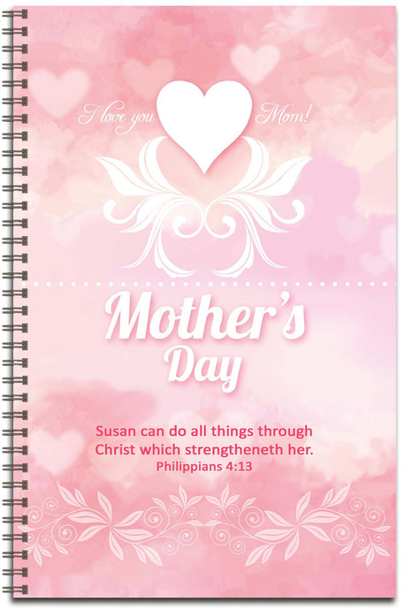 Mother's Day Sweetness - Personalized Journal