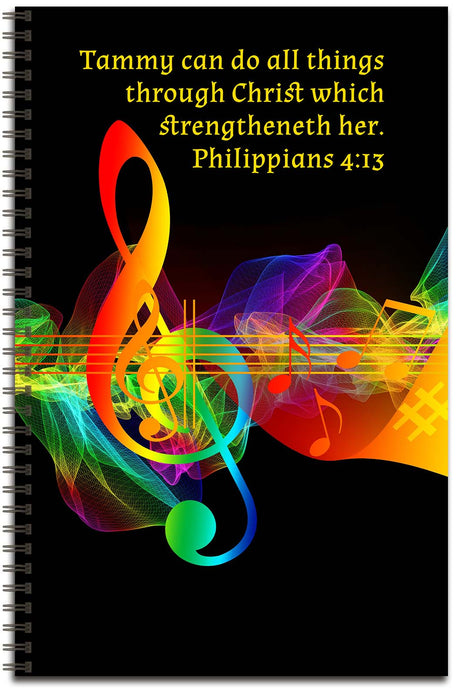 Music Splash - Personalized Journal