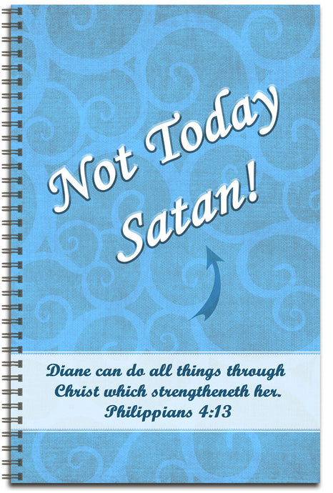 Not Today - Personalized Journal