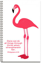 Load image into Gallery viewer, Pink Flamingo - Personalized Journal